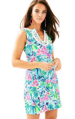 Harper Stretch Shift Dress