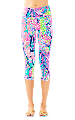 "UPF 50+ Luxletic 21"" High Rise Weekender Cropped Pant"