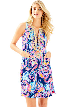Carlotta Stretch Shift Dress