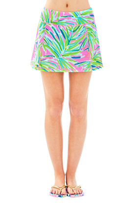 Luxletic Josephine Skort in Royal Lime
