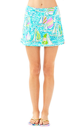 Luxletic Josephine Skort in You Gotta Regatta