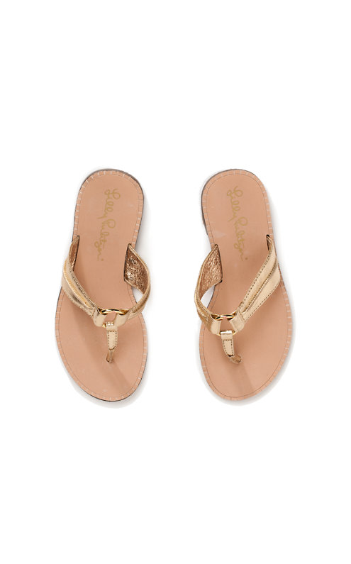 Mini McKim Leather Sandal