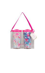 Insulated Tumbler With Lid Set