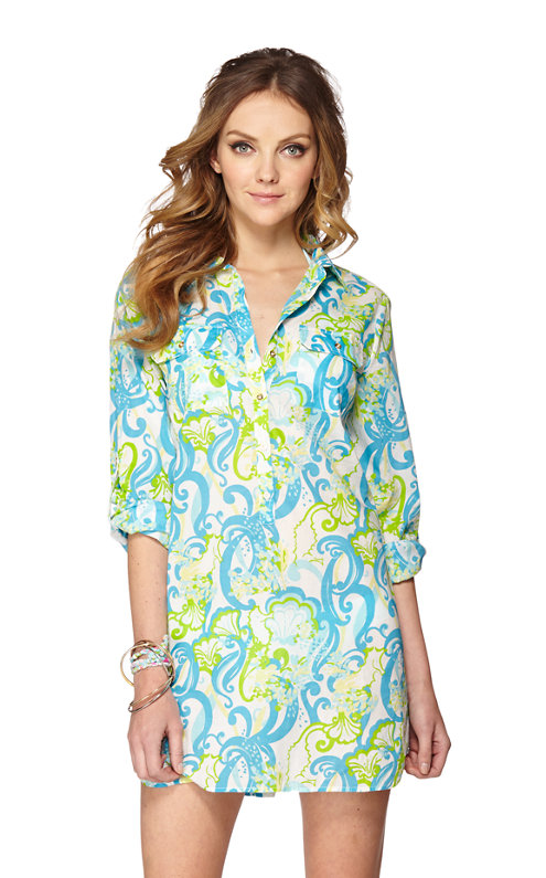 FINAL SALE - Captiva Tunic Cover-Up