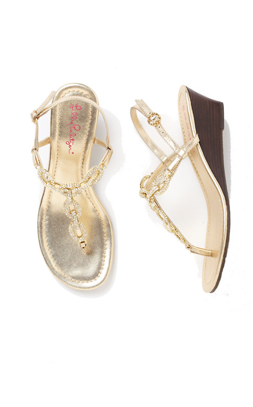Newport Wedge Sandal