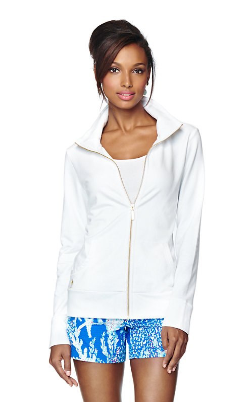 Leona Zip Up Sweatshirt