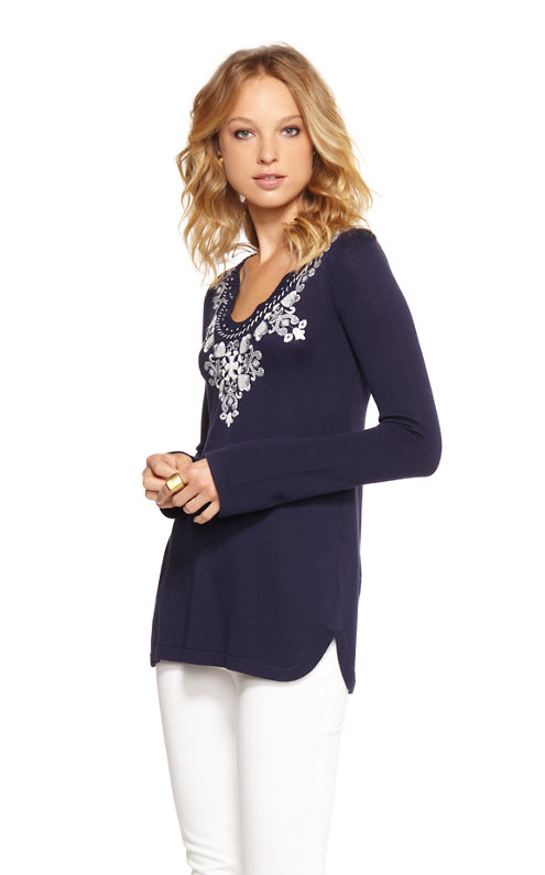 FINAL SALE - April Tunic Sweater