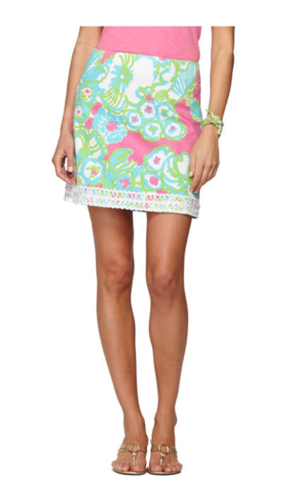 lavender lace trim skirt 68340 lilly pulitzer