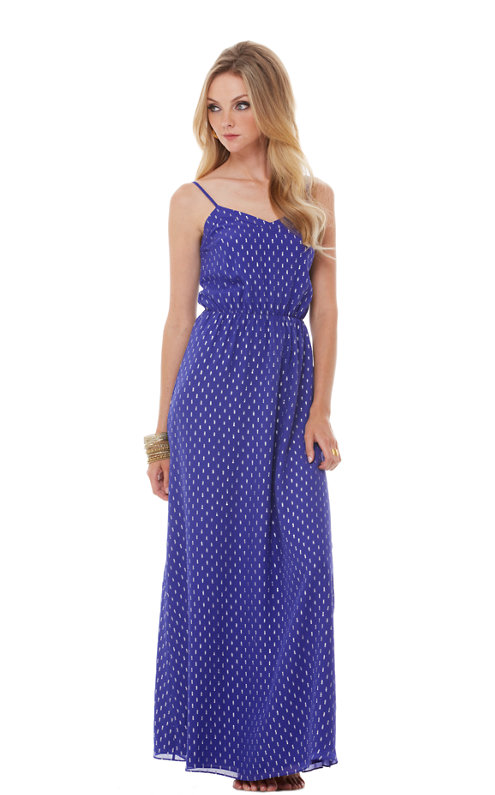 FINAL SALE - Deanna Spaghetti Strap Maxi Dress