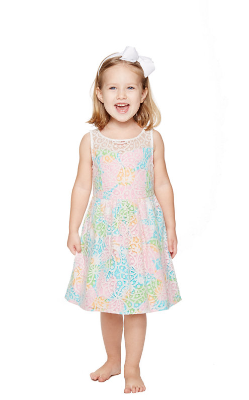 FINAL SALE - Little Ellis Fit And Flare Dress