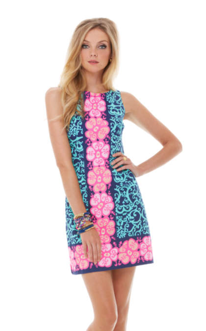Delia Shift Dress | 74993 | Lilly Pulitzer