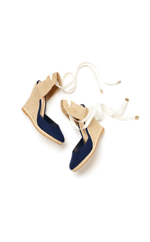 FINAL SALE - Kate Espadrille Wedge