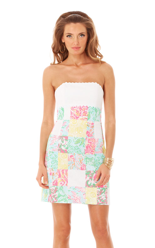 Franco Strapless Empire Waist Dress