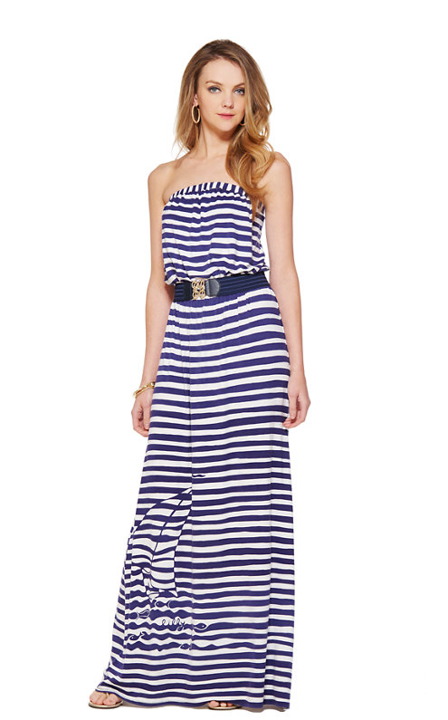 FINAL SALE - Emmett Strapless Maxi Dress