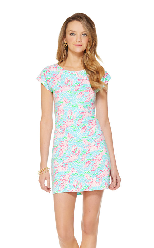Westerly Short Sleeve French Terry Dress