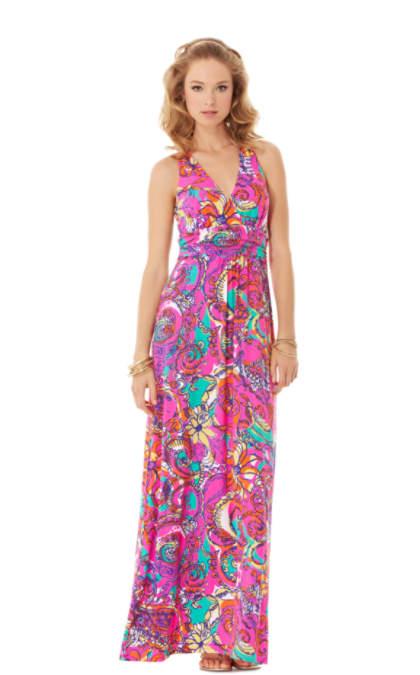 Parrish Halter Maxi Dress | 76815 | Lilly Pulitzer