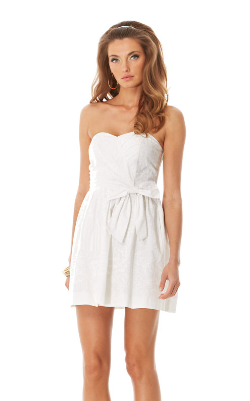 Henrietta Strapless Sweetheart Dress