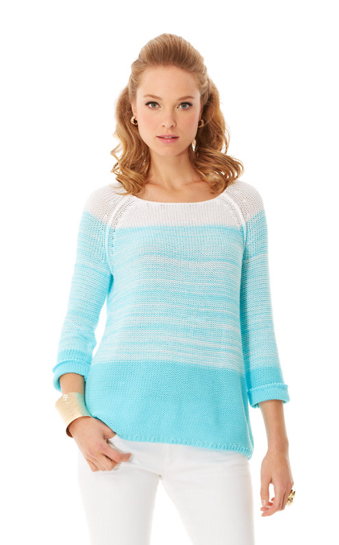 Nantucket Ombre Pullover Sweater