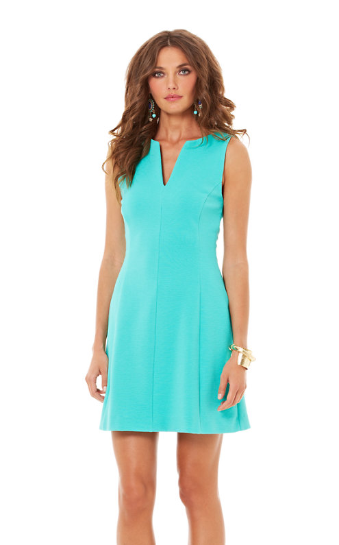 Brielle Sleeveless Fit And Flare Dress