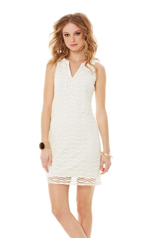 Margate Sleeveless Lace Shift Dress