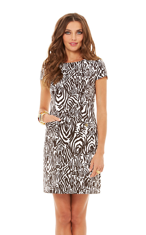 Layton Short Sleeve Shift Dress