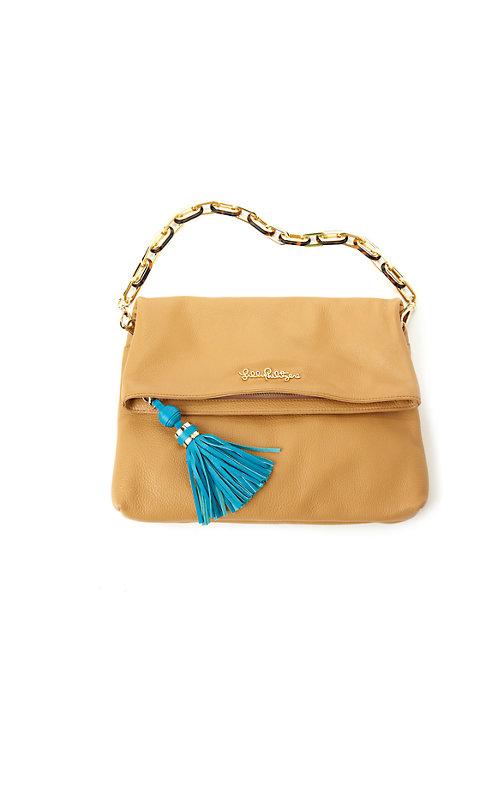 Worth It Leather Clutch Handbag