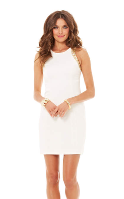 Chrissy Sleeveless Shift Dress | 82435 | Lilly Pulitzer