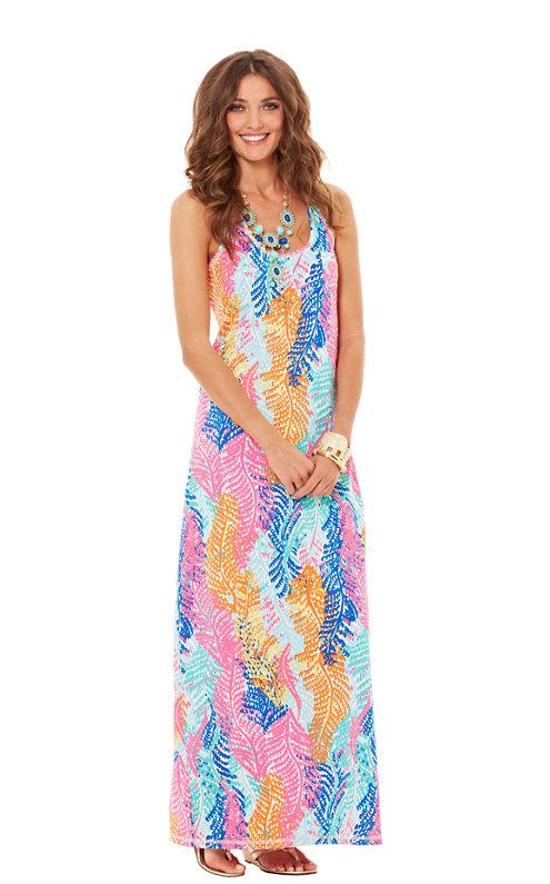 Betty Racerback Maxi Dress
