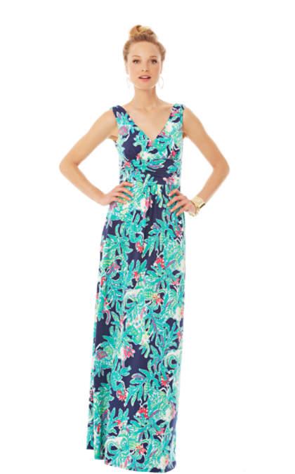 Sloane V-Neck Maxi Dress | 86149 | Lilly Pulitzer