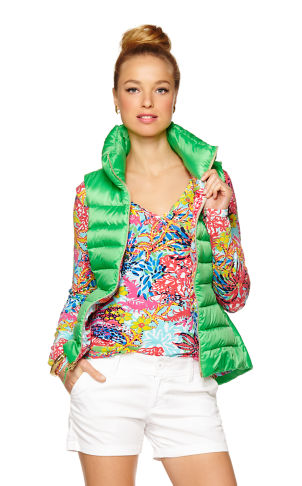 Allie Packable Quilted Vest