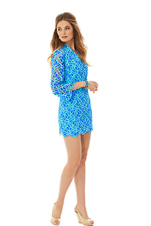 Devina Lace Tunic Dress