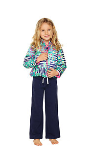 Girls Mini Kate Printed Puffer Jacket
