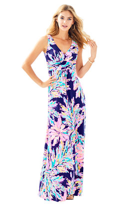 Sloane V-Neck Maxi Dress