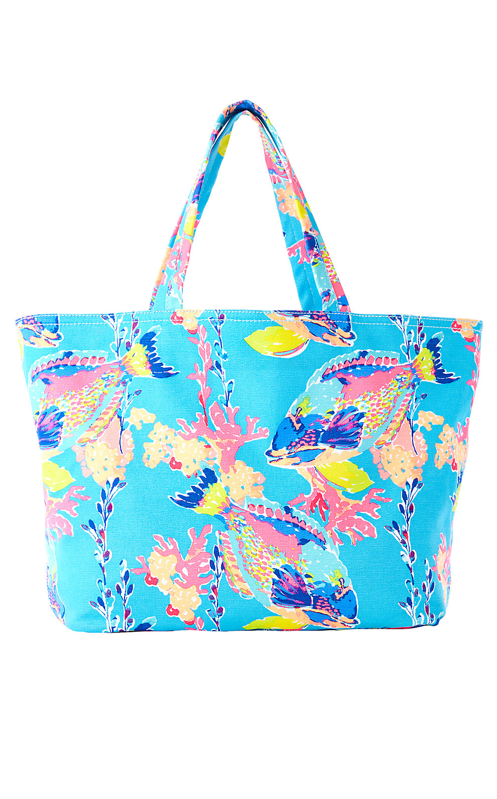 Lilly Pulitzer Palm Beach Tote - Sandstorm