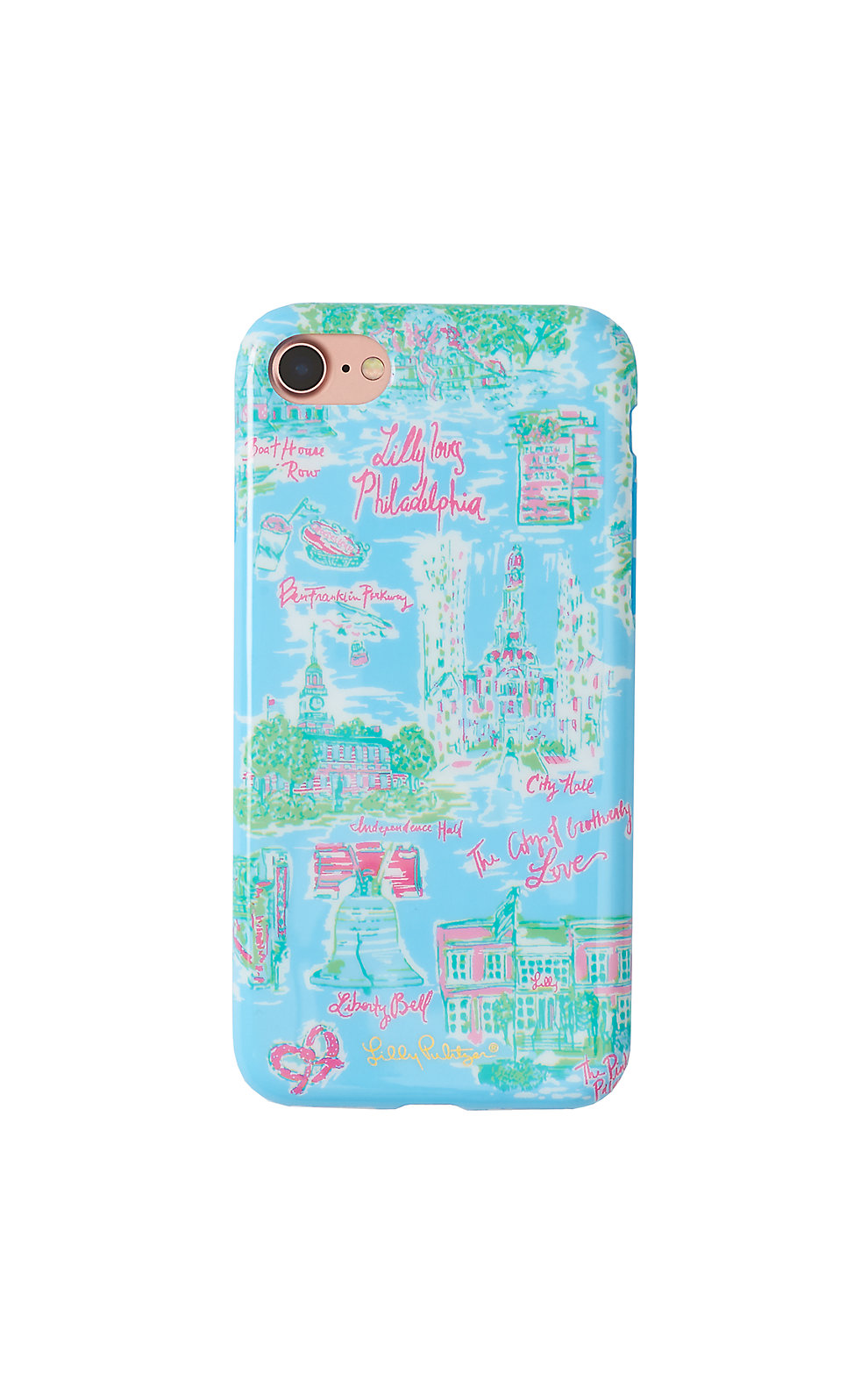 Lilly Pulitzer iPhone 7 Cover - Philadelphia