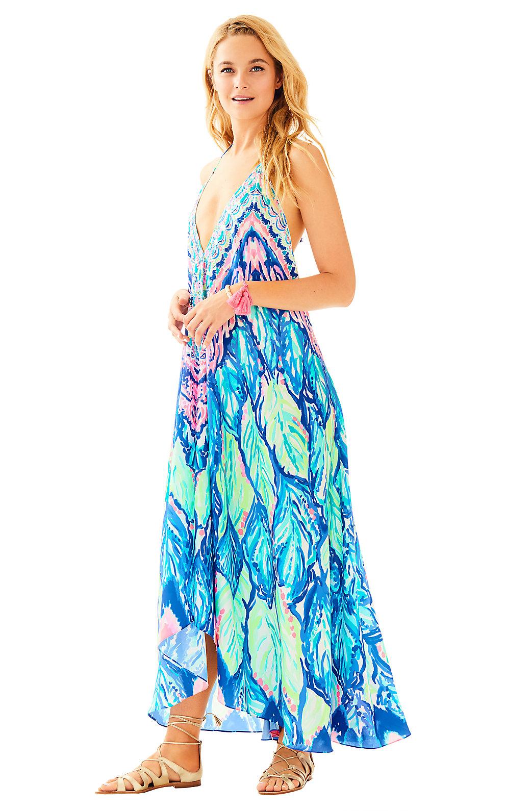 Lilly Pulitzer Fayette Beach Maxi Dress