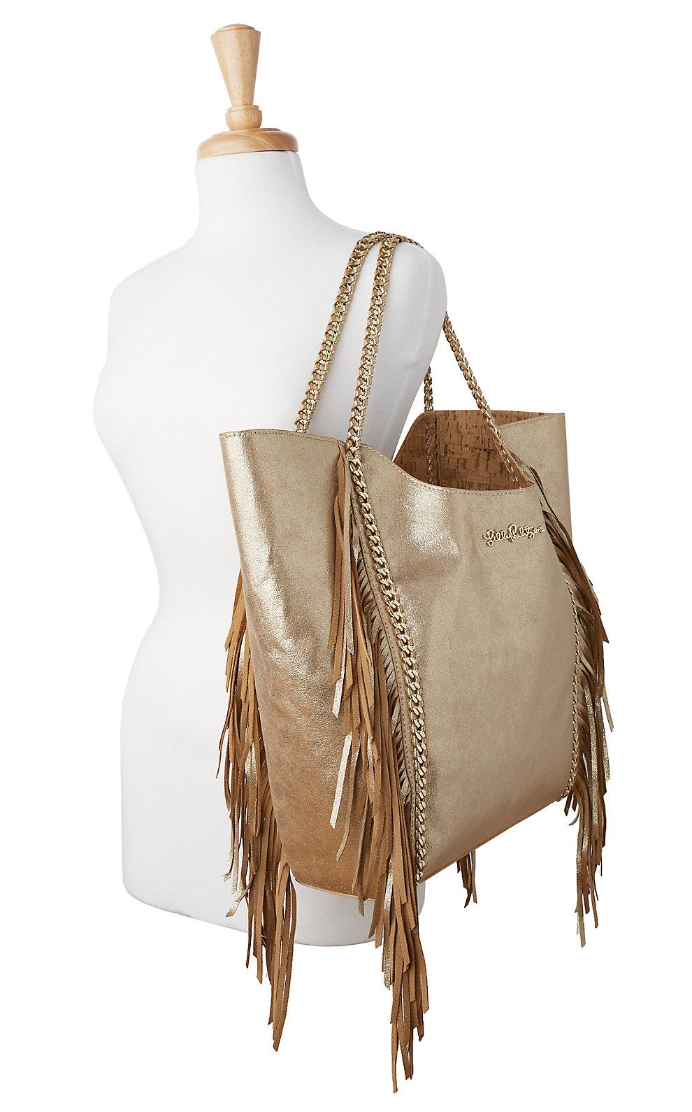 Lilly Pulitzer Fringe Cruise Tote Bag
