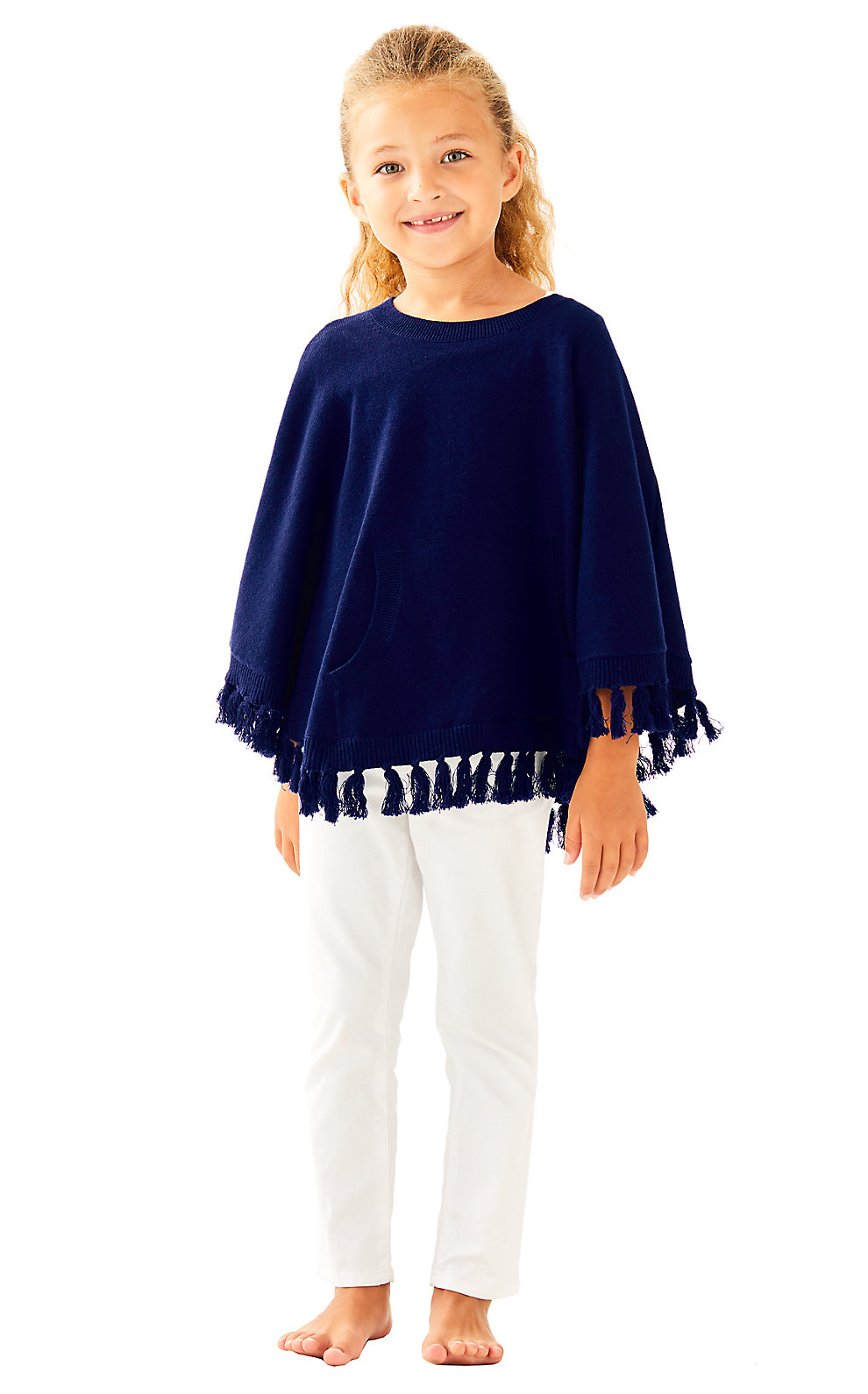 Lilly Pulitzer Girls Hani Poncho Sweater