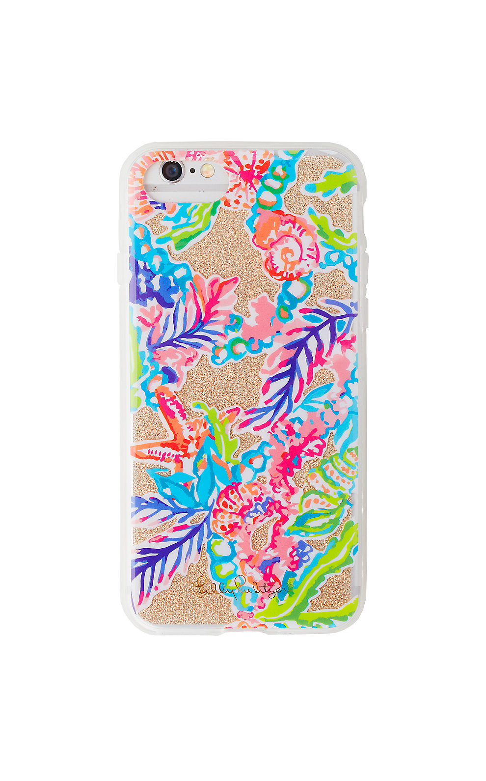 Lilly Pulitzer iPhone 7/8 Glitter Cover