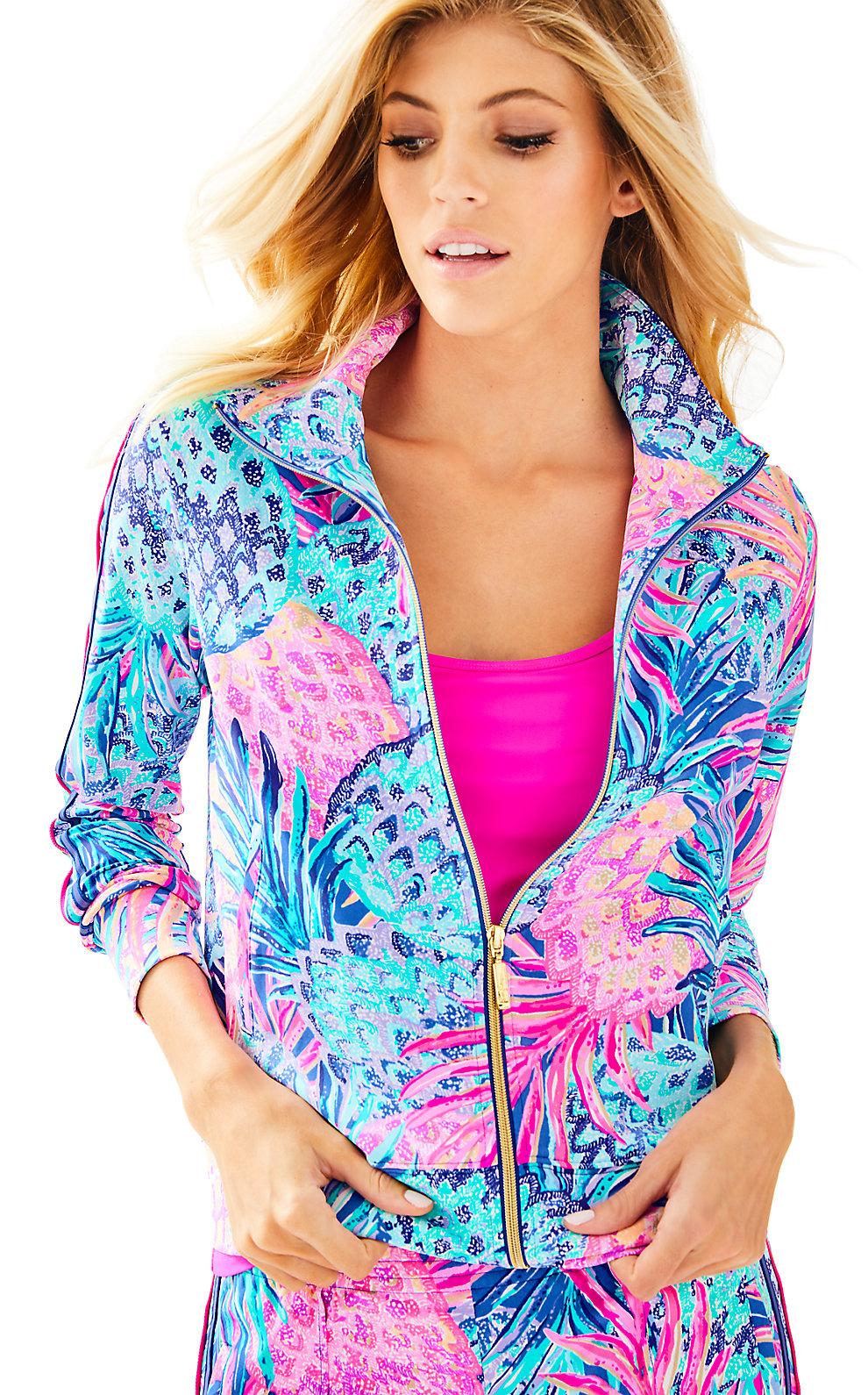 Lilly Pulitzer UPF 50+ Luxletic Caden Track Jacket