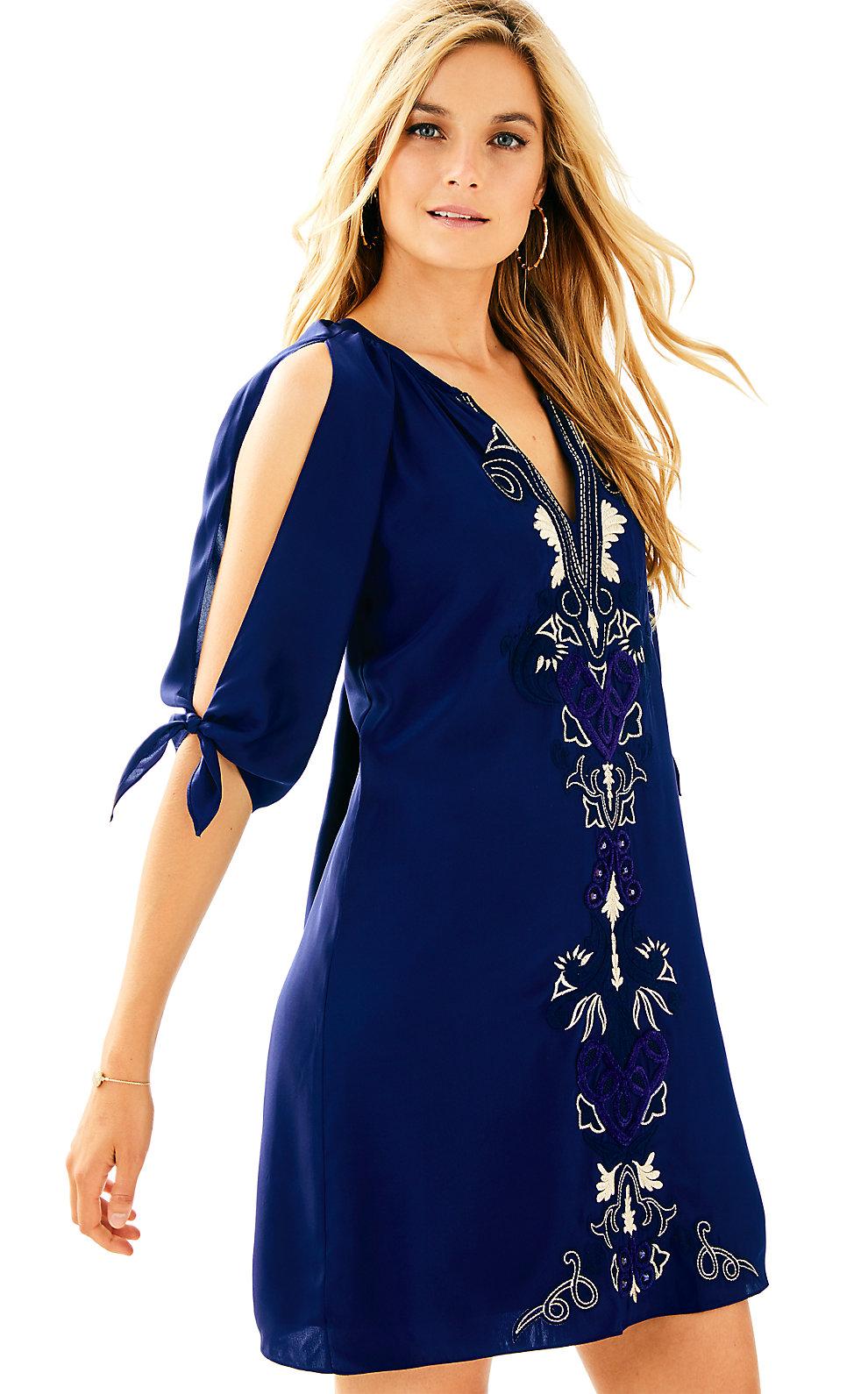 Lilly Pulitzer  BRYCE SILK DRESS
