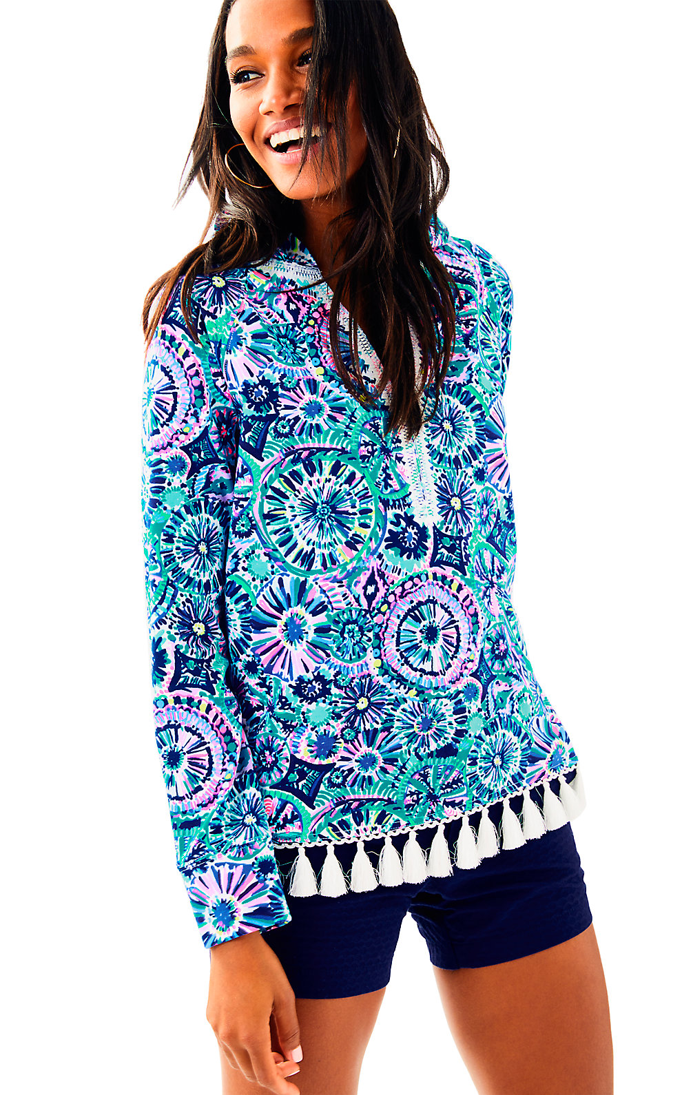 Lilly Pulitzer UPF 50+ Harmon Hoodie