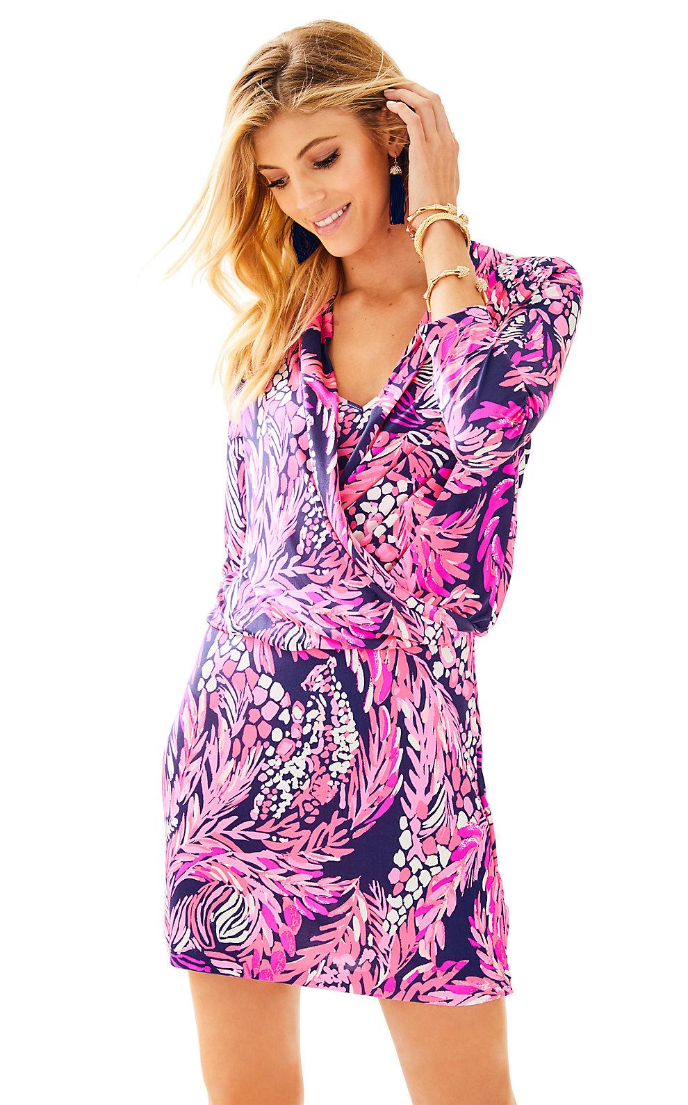Lilly Pulitzer Felizia Silk Dress