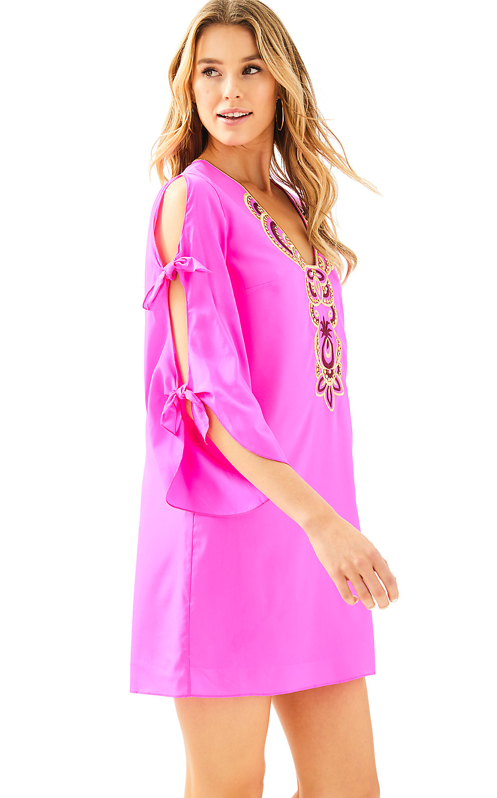 Lilly Pulitzer Avila Stretch Silk Dress