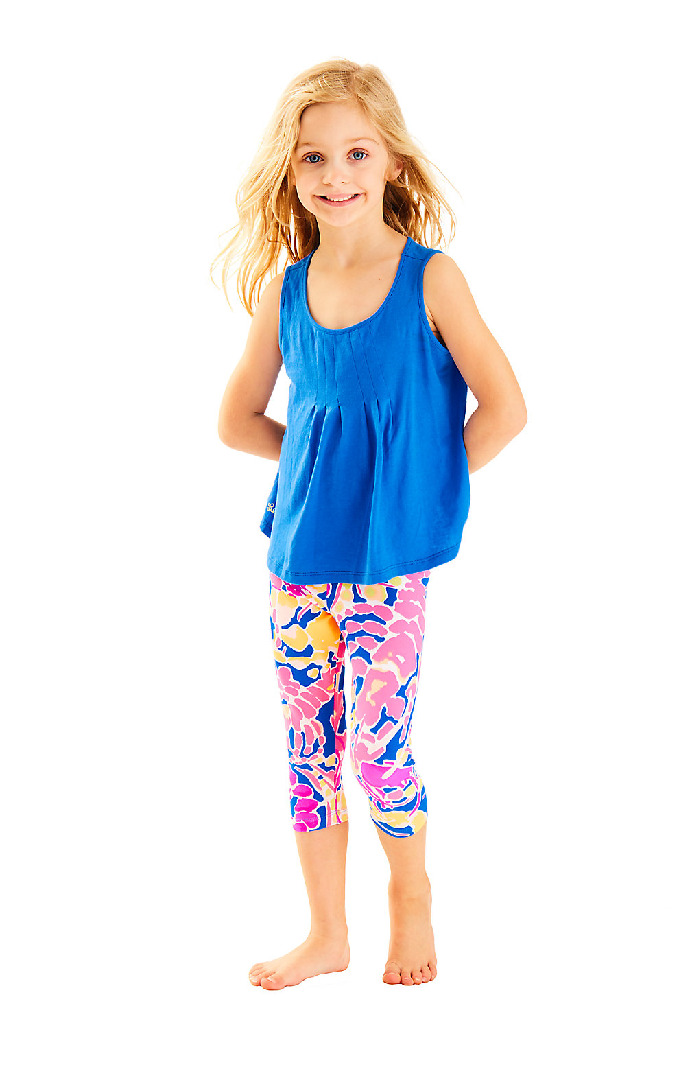 Lilly Pulitzer Girls Maia Cropped Legging