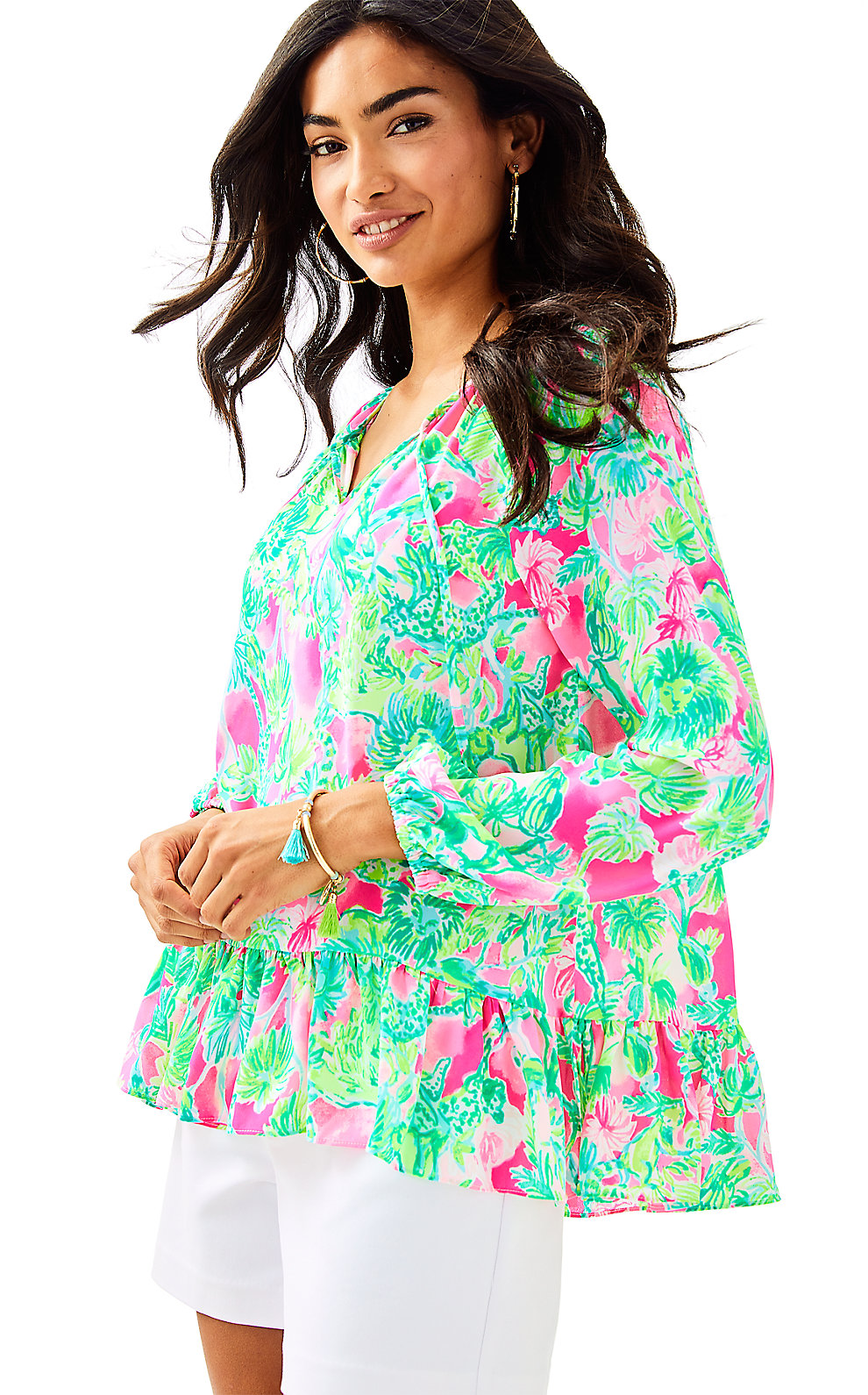 Lilly Pulitzer Tops TENSLEY TOP