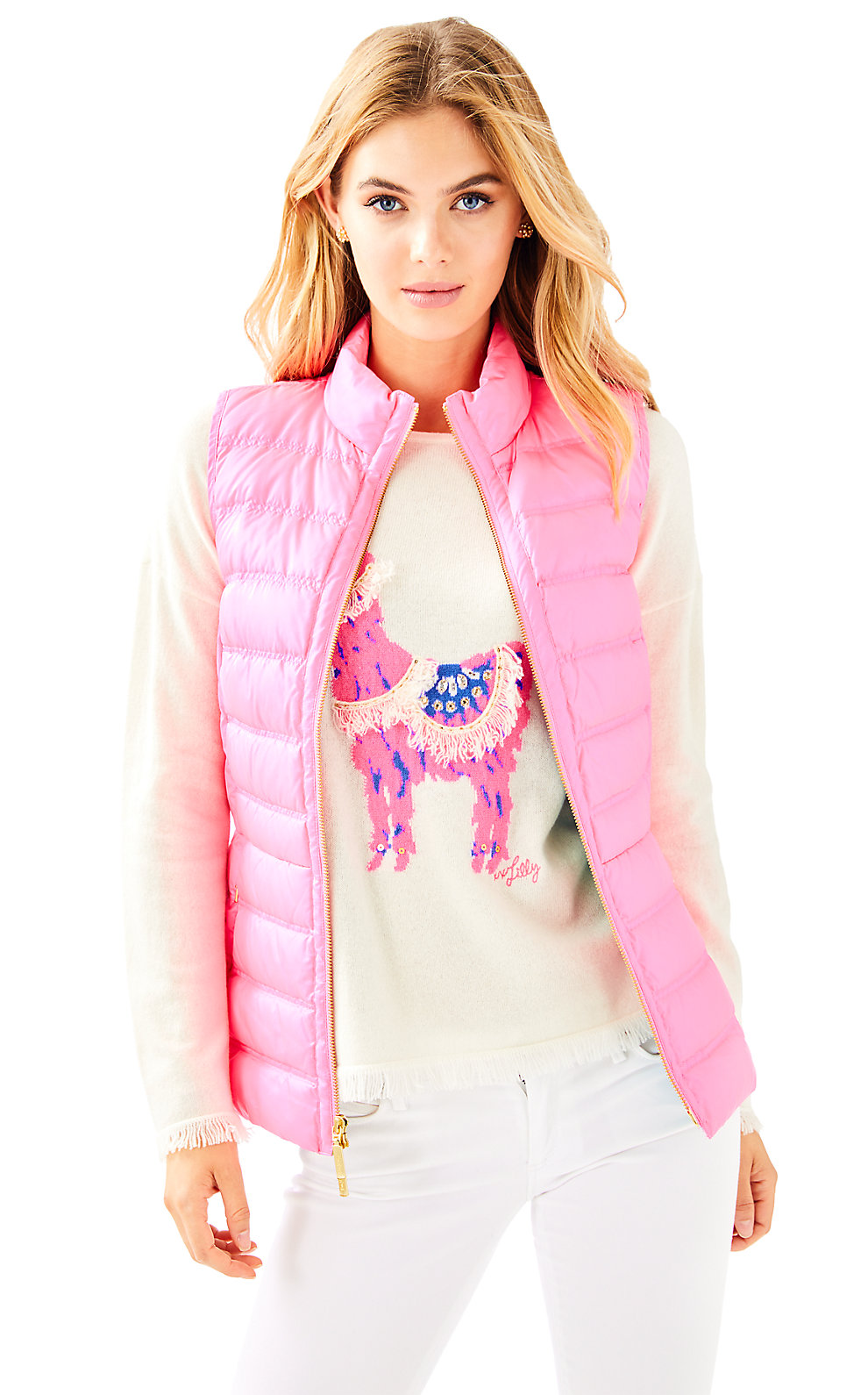Lilly Pulitzer Elana Puffer Vest