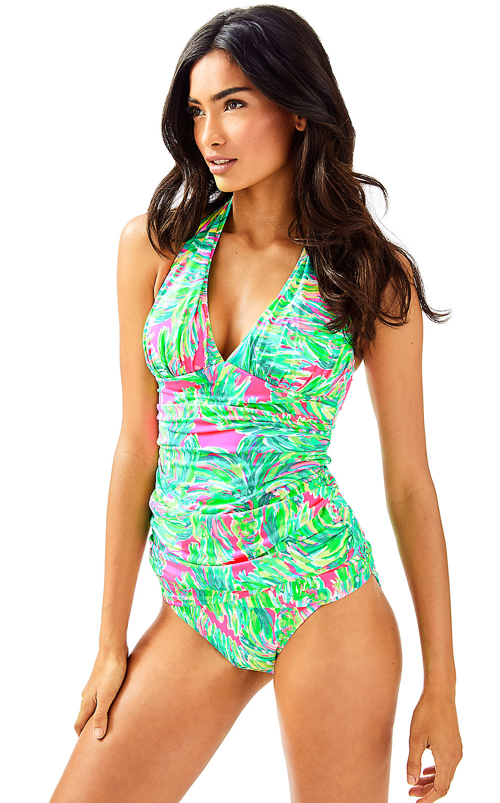 Lilly Pulitzer Lilly Pulitzer Bliss Halter Tankini Top