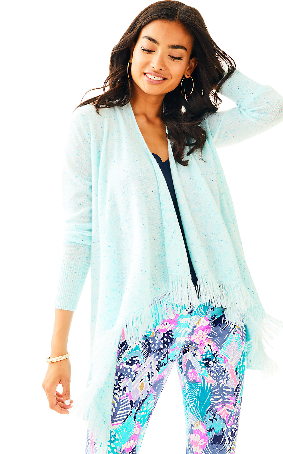 Lilly Pulitzer Inglewood Cashmere Cardigan