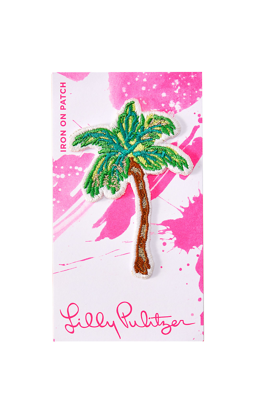 Lilly Pulitzer Iron On Palm Tree Patch